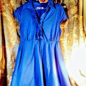 Bailey Blue short sleeve dress size large